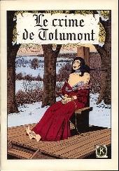 Le crime de Tolumont - Tome 1TT