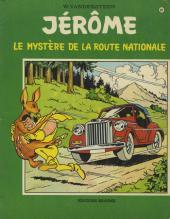 Jérôme -37- Le mystère de la route nationale