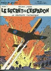 Blake et Mortimer (Historique) -1b70- Le Secret de l'Espadon - Tome I - La Poursuite fantastique