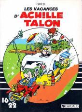 Achille Talon (16/22) -214c- Les vacances d'Achille Talon