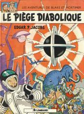 Blake et Mortimer (Historique) -8f92- Le Piège diabolique