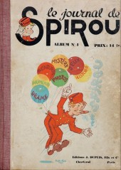 (Recueil) Spirou (Album du journal) -1- Spirou Album du journal