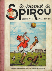 (Recueil) Spirou (Album du journal) -4- Spirou album du journal