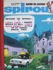 (Recueil) Spirou (Album du journal) -107- Spirou album du journal