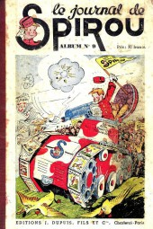 (Recueil) Spirou (Album du journal) -9- Spirou album du journal
