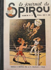 (Recueil) Spirou (Album du journal) -7- Spirou album du journal