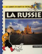 Tintin - Divers -Car09- Carnets de route : la Russie