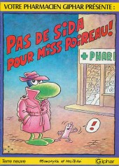 Le concombre masqué -Pub1- Pas de Sida pour Miss Poireau !