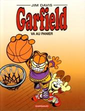 Garfield -41- Garfield va au panier