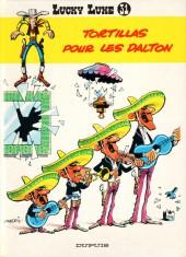 Lucky Luke -31b90- Tortillas pour les Dalton