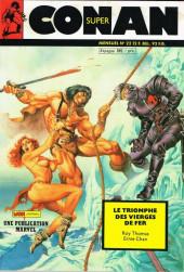 Conan (Super) (Mon journal) -22- Le triomphe des vierges de fer