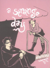 Couverture de A strange day