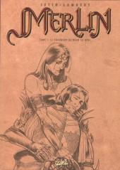 Merlin (Istin/Lambert) -7a- Le chaudron de Bran-le-Béni (N&B brochée)