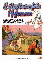 Il était une fois l'homme -21- Les conquêtes de Gengis Khan