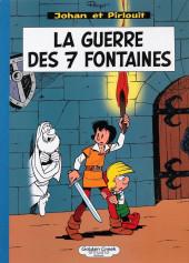 Johan et Pirlouit -10TL1- La guerre des 7 fontaines