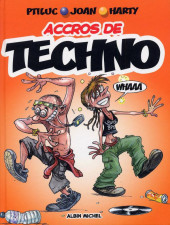 Couverture de Accros de... -4- Techno