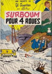Gil Jourdan -6- Surboum pour 4 roues