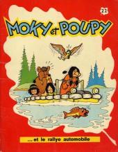 Moky et Poupy -22- Moky et Poupy et le rallye automobile