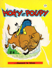 Moky et Poupy -23- Moky et Poupy chassent le bison