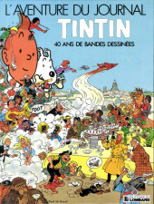 (DOC) Journal Tintin -5- L'Aventure du journal Tintin - 40 ans de bande dessinée