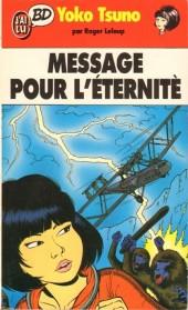 Yoko Tsuno -5Poch- Message pour l'éternité