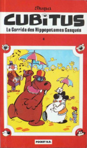 Cubitus -4Poch- La corrida des hippopotames casqués
