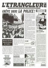 L'Étrangleur -1- Grève dans la police