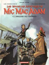 Mic Mac Adam (Les nouvelles aventures de) -4- L'amazone des ténèbres