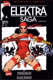 Marvel Méga -2- Elektra saga tome 1/2