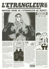 L'Étrangleur -3- Nouveau crime de l'étrangleur de minuit !