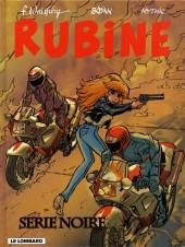 Rubine -10- Série noire