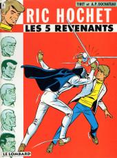 Ric Hochet -10d1994- Les 5 revenants