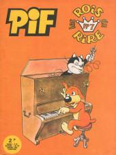Pif le chien (3e série - Vaillant) -RR7- Pif - Les rois du rire n°7