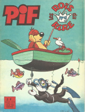Pif le chien (3e série - Vaillant) -RR9- Pif - Les rois du rire n°9