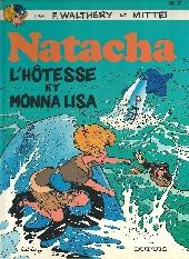 Natacha -7a1986- L'hôtesse et Monna Lisa