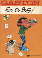 Gaston (Hors-série) -FB12- Fou du bus - CGFTE