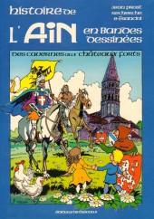 Histoire de l'Ain en bandes dessinées -1- Des cavernes aux châteaux forts