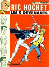 Ric Hochet -10a86- Les 5 revenants