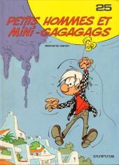 Les petits hommes -25- Petits hommes et mini-gagagags