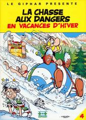 Astérix (Publicitaire) -Giph04- La chasse aux dangers en vacances d'hiver