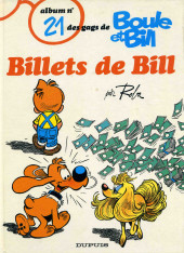 Boule et Bill -21- Billets de Bill