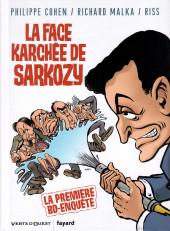 La face karchée de Sarkozy -1- La Face karchée de Sarkozy