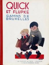 Quick et Flupke -1- (Petit vingtième) -1- Gamins de Bruxelles