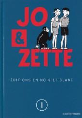 Jo, Zette et Jocko (Les Aventures de) -INT1- Jo et Zette, éditions en N&B T.1