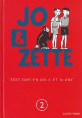 Jo, Zette et Jocko (Les Aventures de) -INT2- Jo et Zette, éditions en N&B T.2