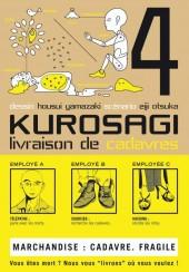 Kurosagi, livraison de cadavres -4- Volume 4
