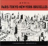 (AUT) Avril - Paris - Tokyo - New-York - Bruxelles