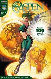 Aspen Comics -HS1A- Fathom, Soulfire, Ekos & Shruggeo