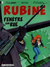 Rubine -2- Fenêtre sur rue
