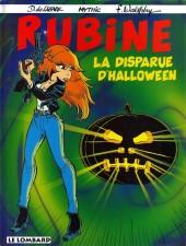 Rubine -5- La disparue d'Halloween
